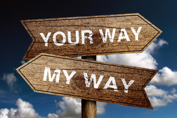 Your Way And My Way