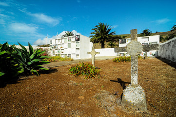 Typical Spanish Mediterrean Cemetery