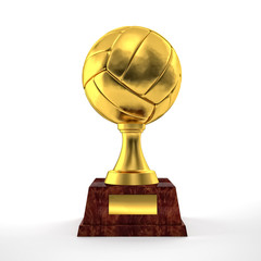 volley trophy