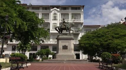 Panama City Central America Statue Herrera