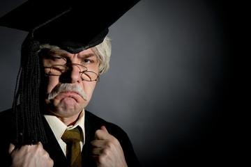 Grumpy Headmaster