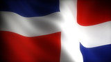 Flag of Dominican Republic (seamless)