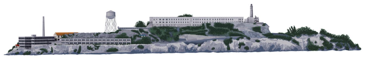 The Alcatraz Island