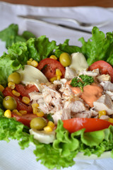 Fresh Healthy Chicken Salad