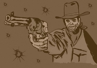 The gunslinger vintage