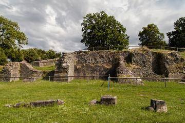 Ruins of the Aventicum theatre