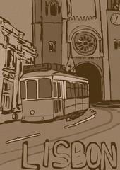 Lisbon vintage