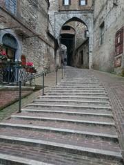 Perugia zona acquedotto