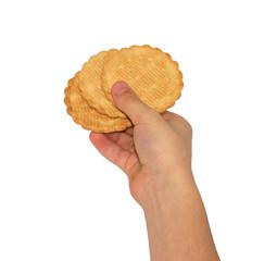 Cookies in children's hands