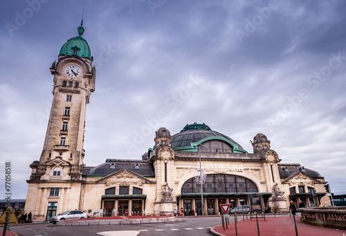 Foto op Aluminium Treinstation Gare de Limoges