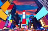 Fototapety Times Square Manhattan New York deleted ads