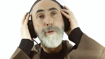 Friar music calm dance close-up