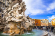 Rome   - beautiful piazza Navona - 77062512
