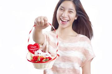 Valentines' Basket