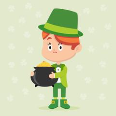 Leprechaun Character Pose