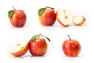 apples fruit  isolated on white background