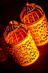 Arabic candlelight lamp