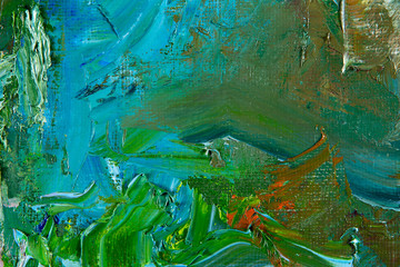 fragmentu malarstwa abstrakcyjnego