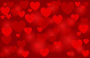 heart, vector background