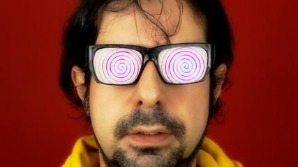 Hypnotech glasses spiral hypnosis