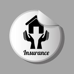 Insurance design, vector illustration.