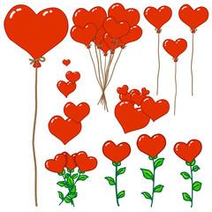 Elément Saint Valentin
