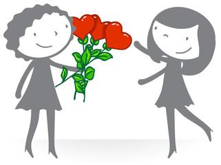 Amour - Couple femmes