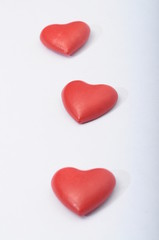 Red heart for love