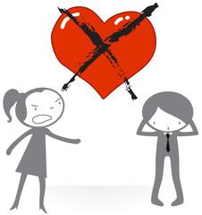 Amour - Séparation