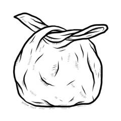 used plastic bag