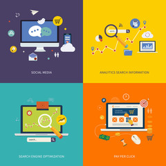 Internet advertising icons