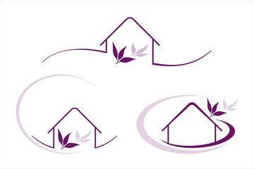 Home , architecture , icon,  business logo design