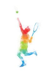 Tennis Art 1