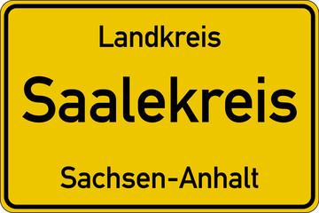 Saalekreis in Sachsen-Anhalt