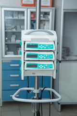 medical equipment in hospital