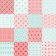 Retro patterns in color