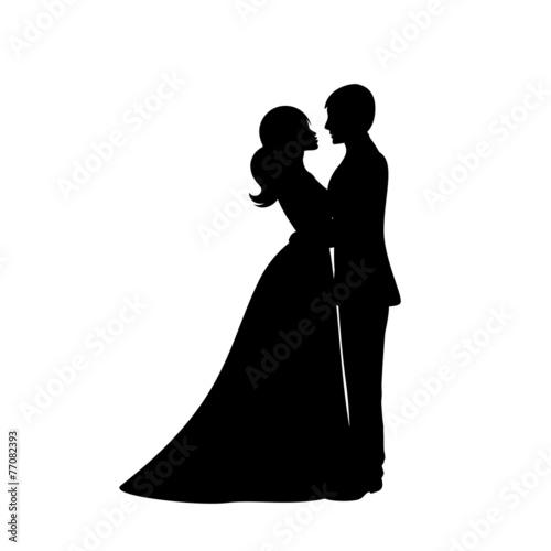 Couple dancing love - 77082393
