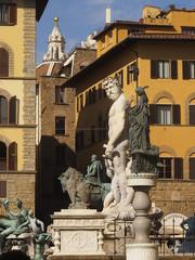 Toscana,Firenze,piazza della Signoria,statue.