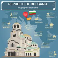 Bulgaria  infographics, statistical data, sights