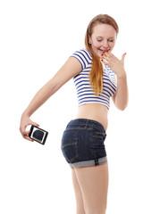 belfie or butt selfie