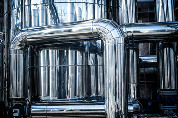 stainless steel tube plant