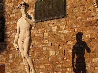 Toscana,Firenze,il David di Michelangiolo.