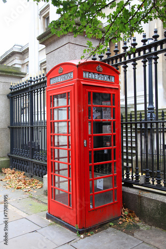londres cabina de teléfonos roja 0968-f15
