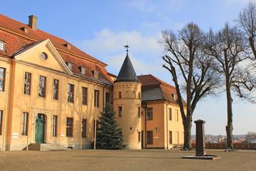 Portalseite Schloss Stavenhagen (Mecklenburg-Vorpommern)