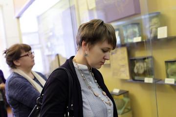 Women in museum