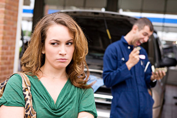 Mechanic: Woman Upset at Repair Rip Off