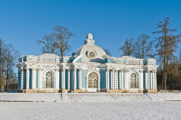 Grotto pavilion in Tsarskoe Selo near St.-Petersburg, Russia