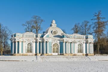 Grotto pavilion in Tsarskoe Selo near St.-Petersburg, Russia