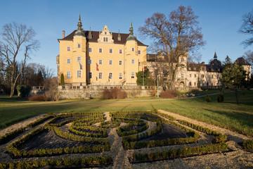 Kliczkow castle in Poland.