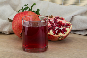 Pomecranet juice